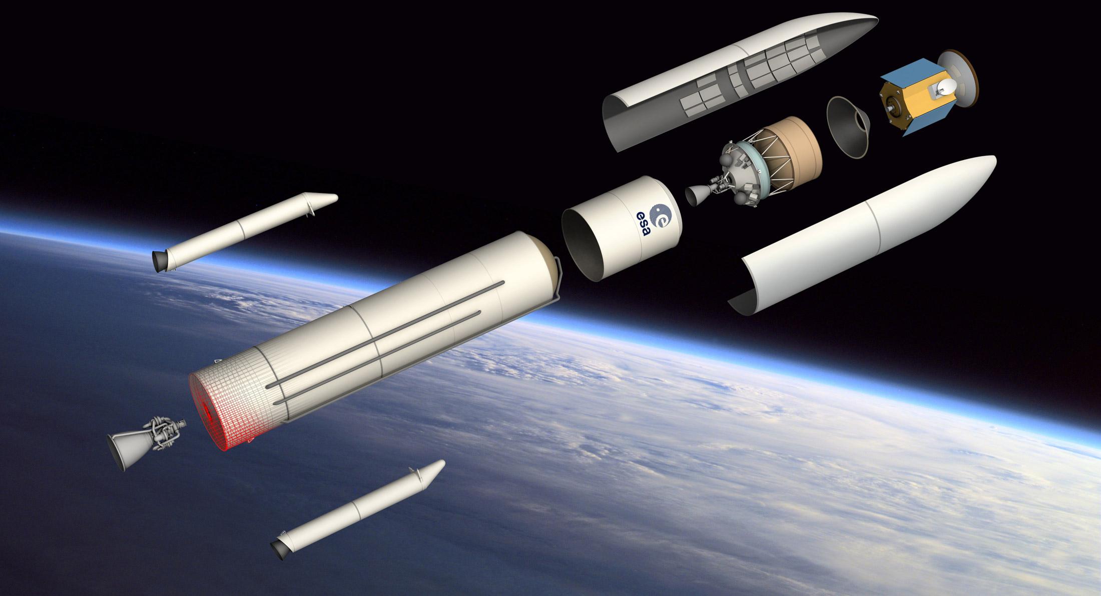 Les économies avant la technologie pour Ariane 6