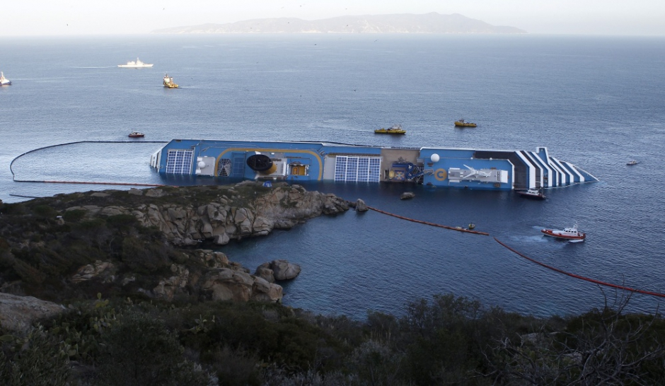 Le Costa Concordia bientôt remis à flot