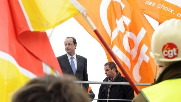 François Hollande de retour à Florange