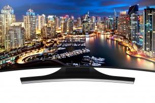 Location TV Samsung 4K incurvée 165 cm