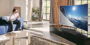 Louer une TV Smasung 4K incurvée 165 cm